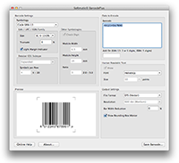 Screenshot Barcode Software Mac