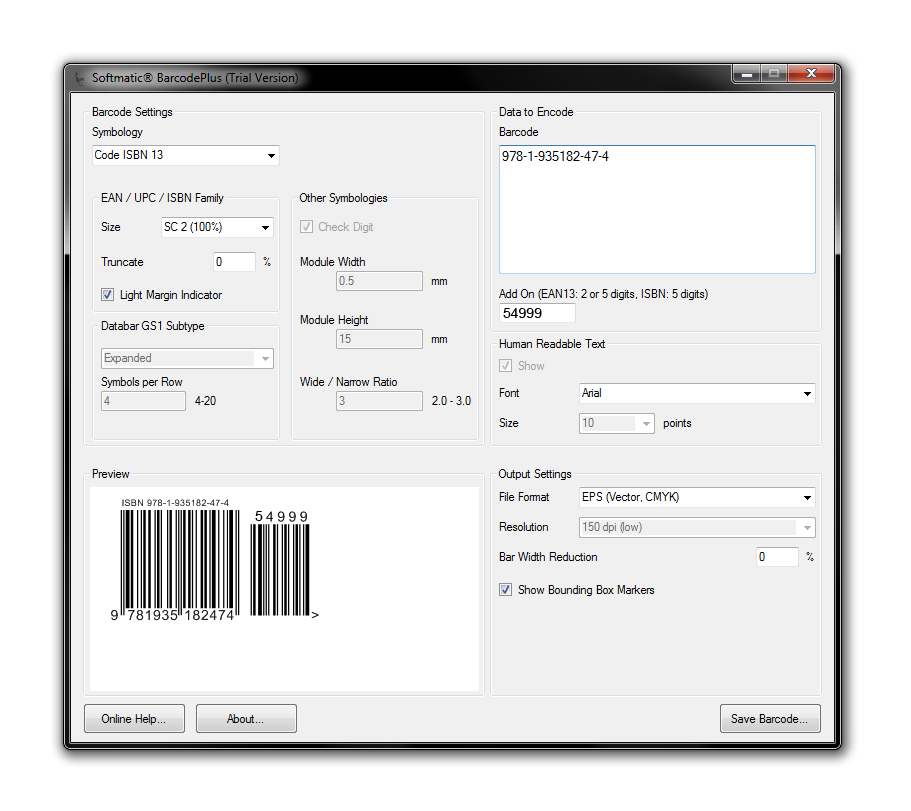 Barcode Software for Windows PC