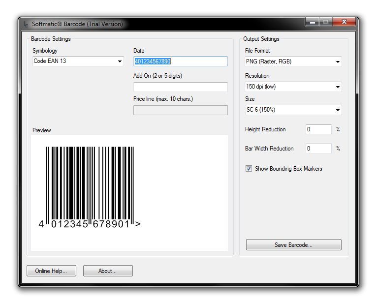 download barcode software free