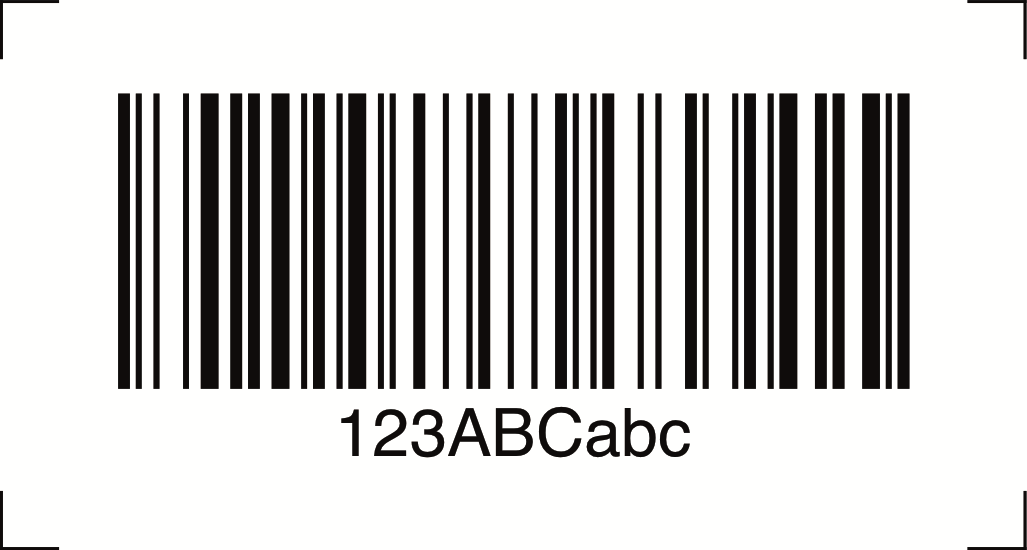 barcode faq i have printed a code 128 barcode but my scanner won 39 t read or scan it softmatic. Black Bedroom Furniture Sets. Home Design Ideas