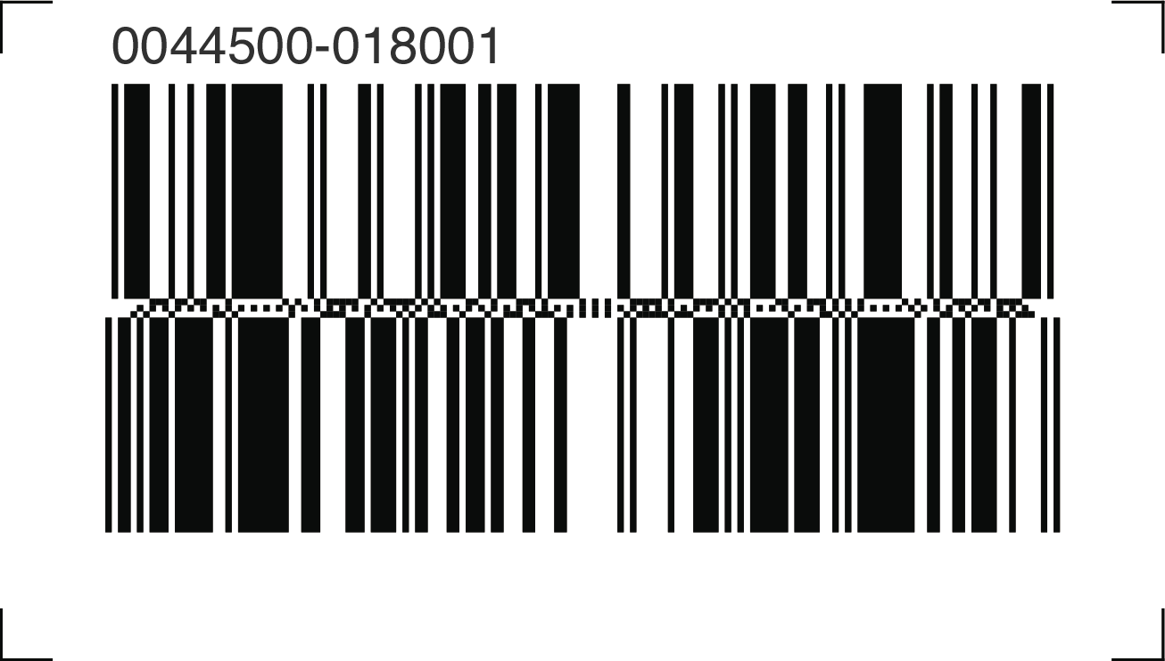 Coupon with Databar GS1 barcode