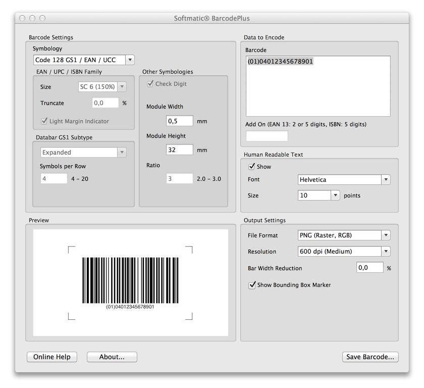 Ean Berechnen : barcode code 128 gs1 ucc ean auf mac und pc erstellen musterbarcodes spezifikationen ~ Themetempest.com Abrechnung