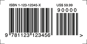 Image Of ISBN 10 With Add On