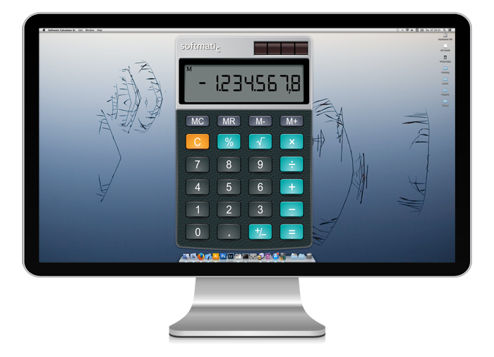 Mac Large Desktop Calculator