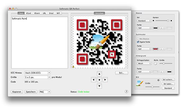 Qr Code Generator App Für Mac Mit Logo Vektor Pdf Export