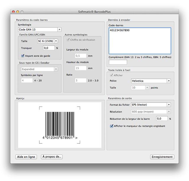 logiciel code barre ean13 gratuit