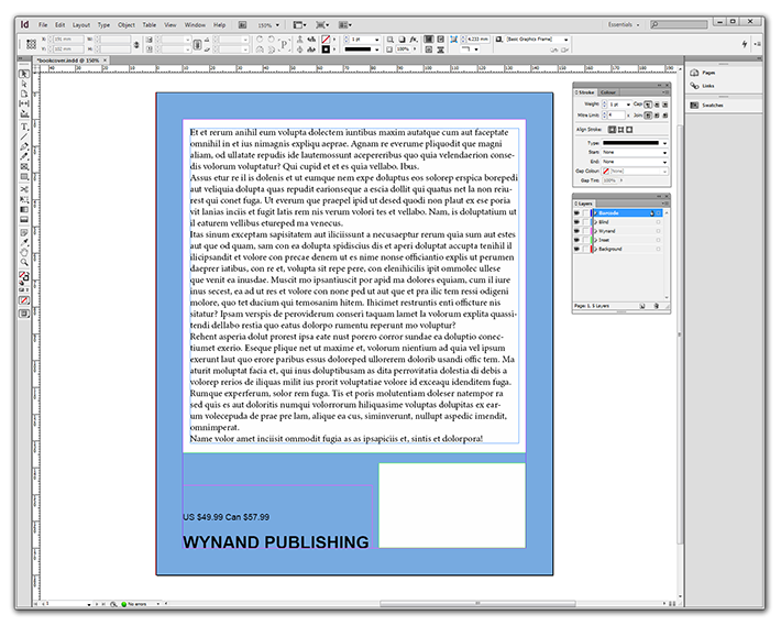 Book Cover Tutorial Indesign : Barcode tutorial for adobe indesign cs isbn